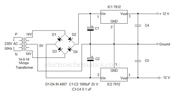 wiring diagram for ac adapter mw 0152  circuit powersupplycircuitsfixed powersupplycircuit  circuit powersupplycircuitsfixed