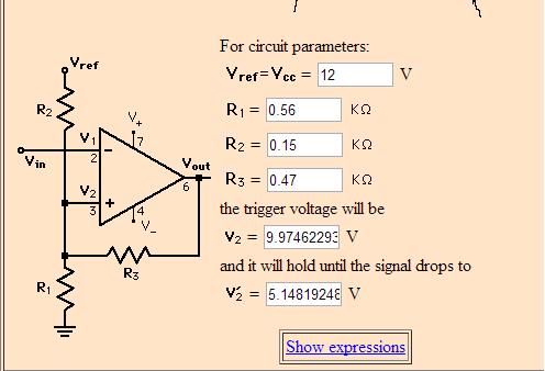 Remarkable Voltage Threshold Problem On A Schmitt Trigger Op Amp Electrical Wiring Cloud Grayisramohammedshrineorg