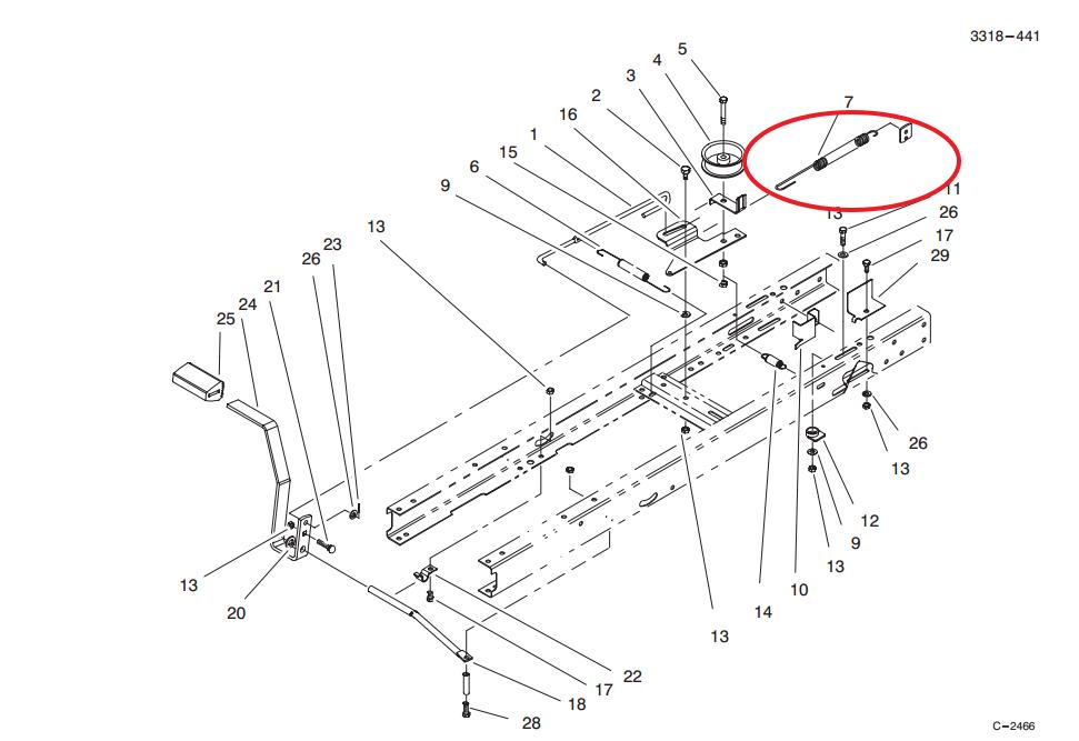 ez2186 horse wiring diagram additionally wheel horse