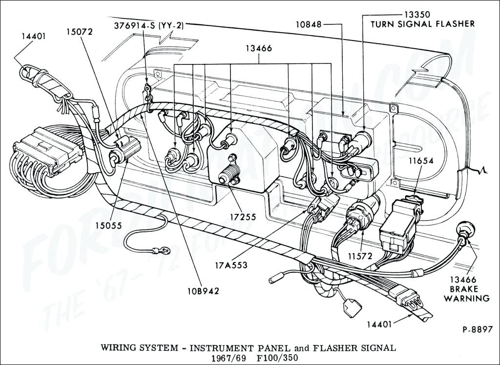 Remarkable 1965 F100 Wiring Diagram Ford Truck Technical Drawings And Wiring Cloud Cranvenetmohammedshrineorg
