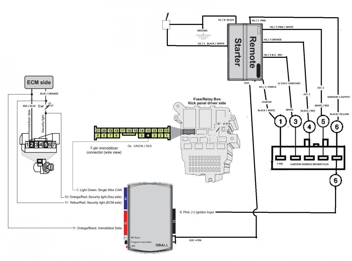 toyota alarm installation wiring diagrams gr 6265  viper remote start wiring diagram besides remote starter  wiring diagram besides remote starter