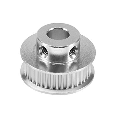 Outstanding Uxcell Aluminum Gt2 36 Teeth 8Mm Bore Timing Belt Pulley Flange Wiring Cloud Timewinrebemohammedshrineorg
