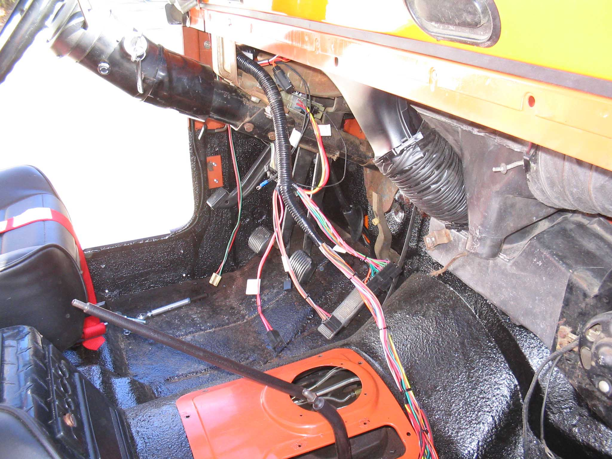 Cf 5206  Centech Wiring Harness Early Bronco Schematic Wiring