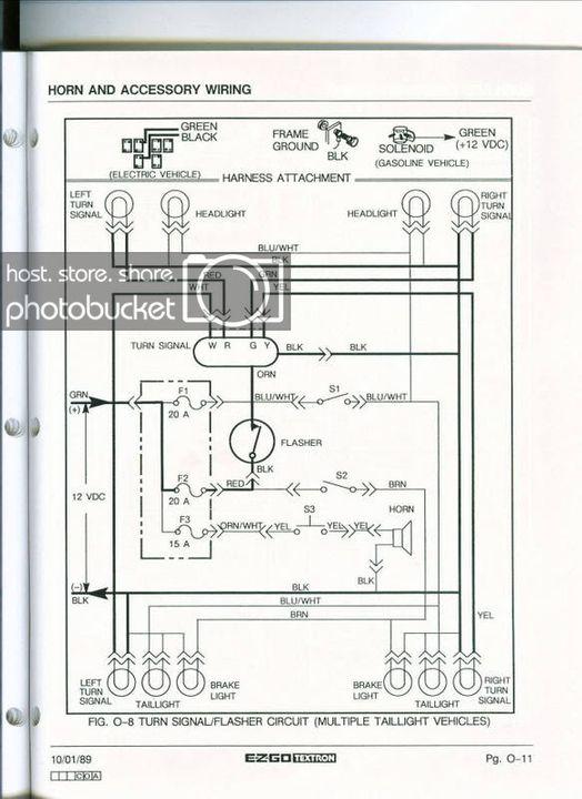 mw6287 ezgo workhorse wiring schematics schematic wiring