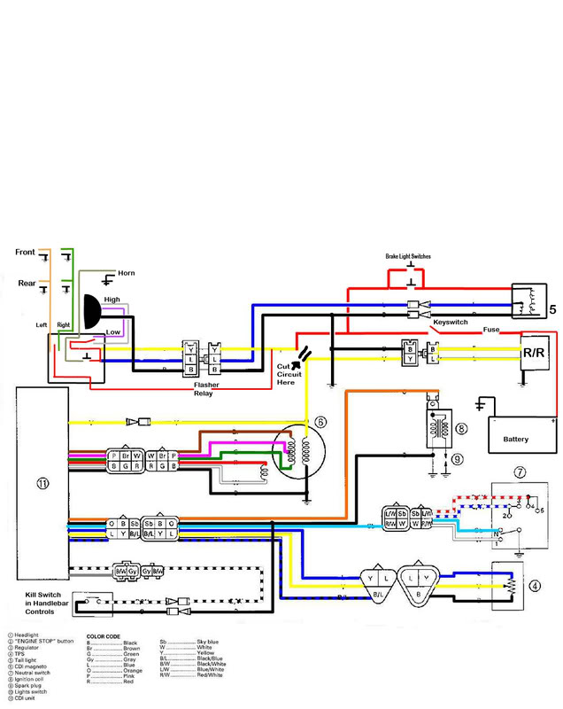 Wr450 Headlight Wiring Diagram - Ac 15 Amp Schematic Wiring | Bege Wiring  Diagram | Wr450 Headlight Wiring Diagram |  | Bege Wiring Diagram