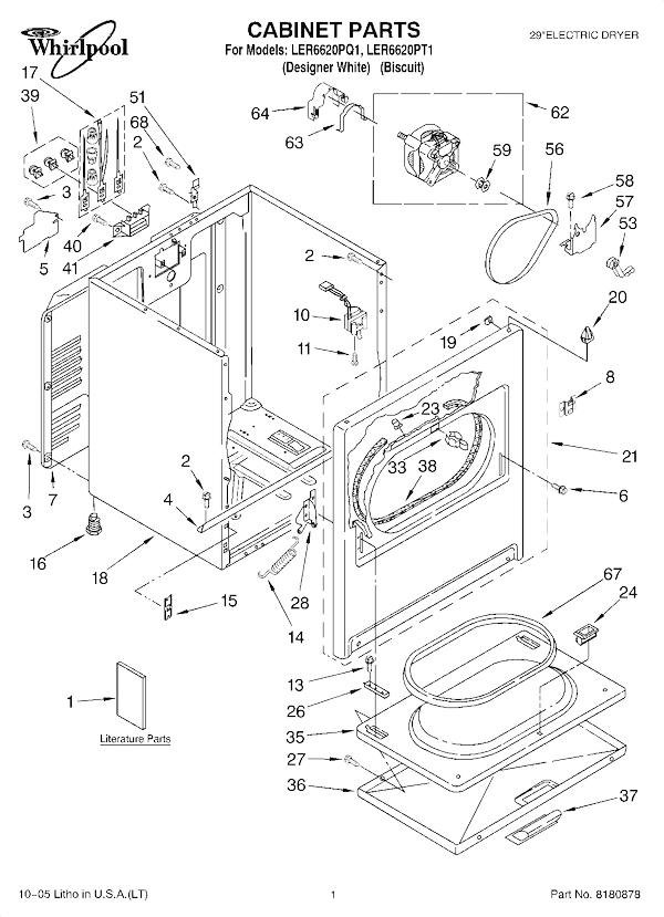 Wiring Diagram For Whirlpool Dryer Ler4634eq2