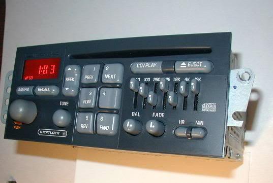1998 pontiac radio wiring cd 0919  delco electronics pontiac part no 09380152 radio tuner  pontiac part no 09380152 radio tuner