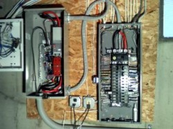 De 3572 200 Amp Whole House Transfer Switch From Generac Standby Generator Schematic Wiring