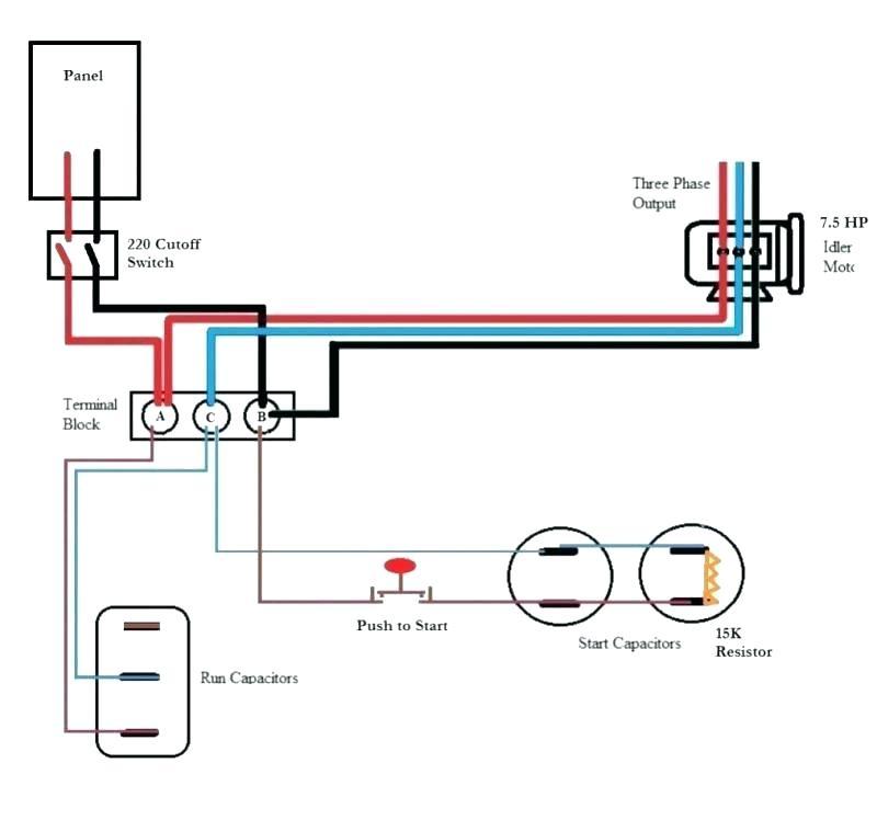 Arco Phase Converter Wiring Diagram