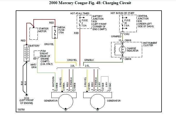 VE_5603] 2000 Mercury Cougar Engine Diagram Wiring DiagramOgeno Kapemie Isra Mohammedshrine Librar Wiring 101