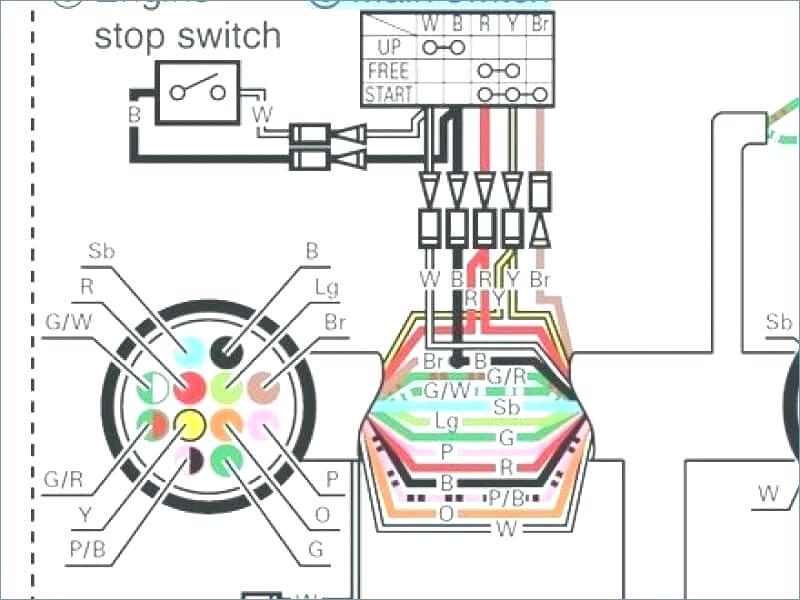 zx3267 yamaha power trim wiring diagram get free image