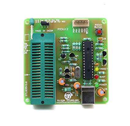 Outstanding Silicon Technolabs Pickit2 Pic Microcontroller Usb Amazon In Wiring Cloud Faunaidewilluminateatxorg