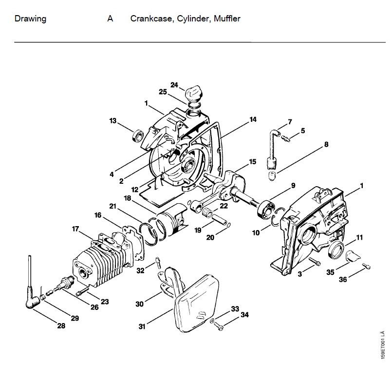 Yo 5221  036 Stihl Chainsaw Parts Diagram Images Wiring