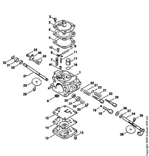 Xo 7950  Stihl 290 Chainsaw Parts Diagram Car Tuning Free Diagram
