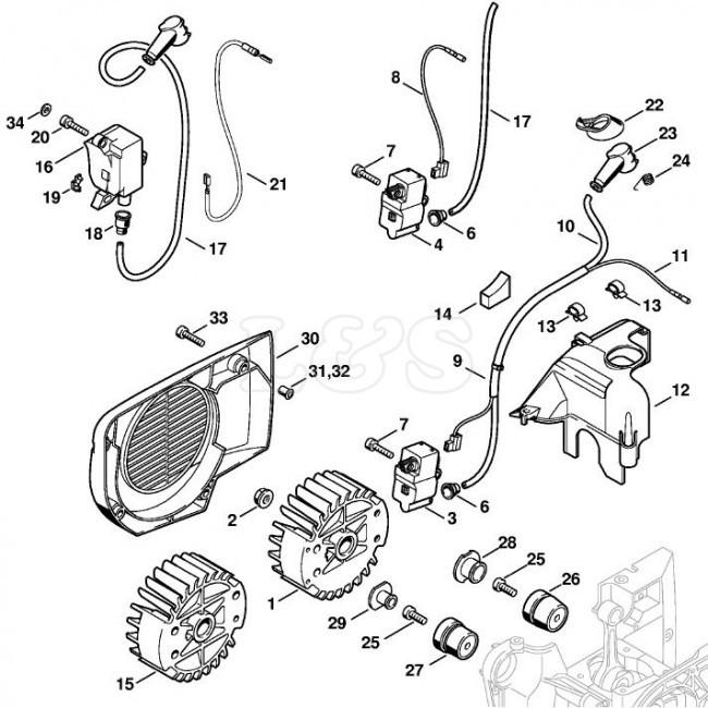 Rz 8720 Stihl 029 Parts Diagram Stihl Ts400 Parts List Free Diagram