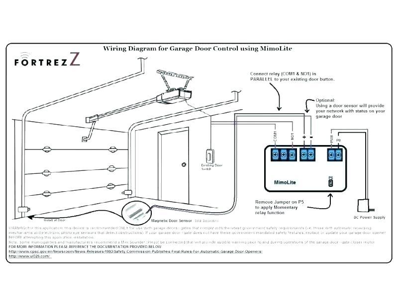 el8537 garage door with remote wiring diagram download diagram