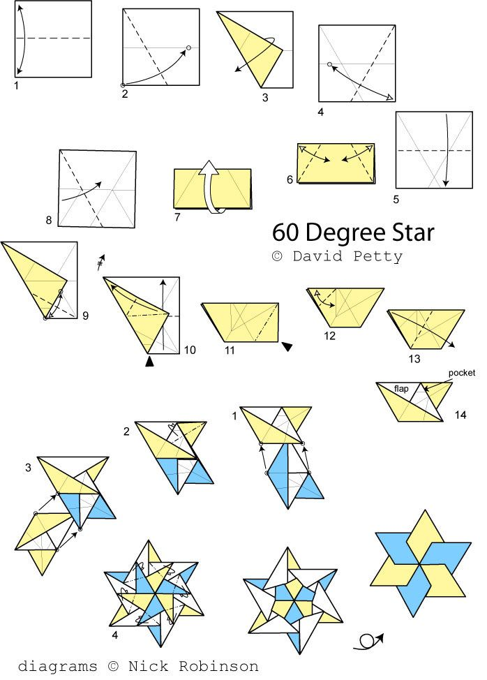 Modular origami – Polypompholyx | 974x698