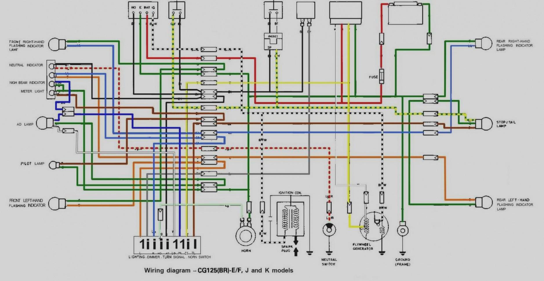 Honda Xrm 125 Headlight Wiring Diagram