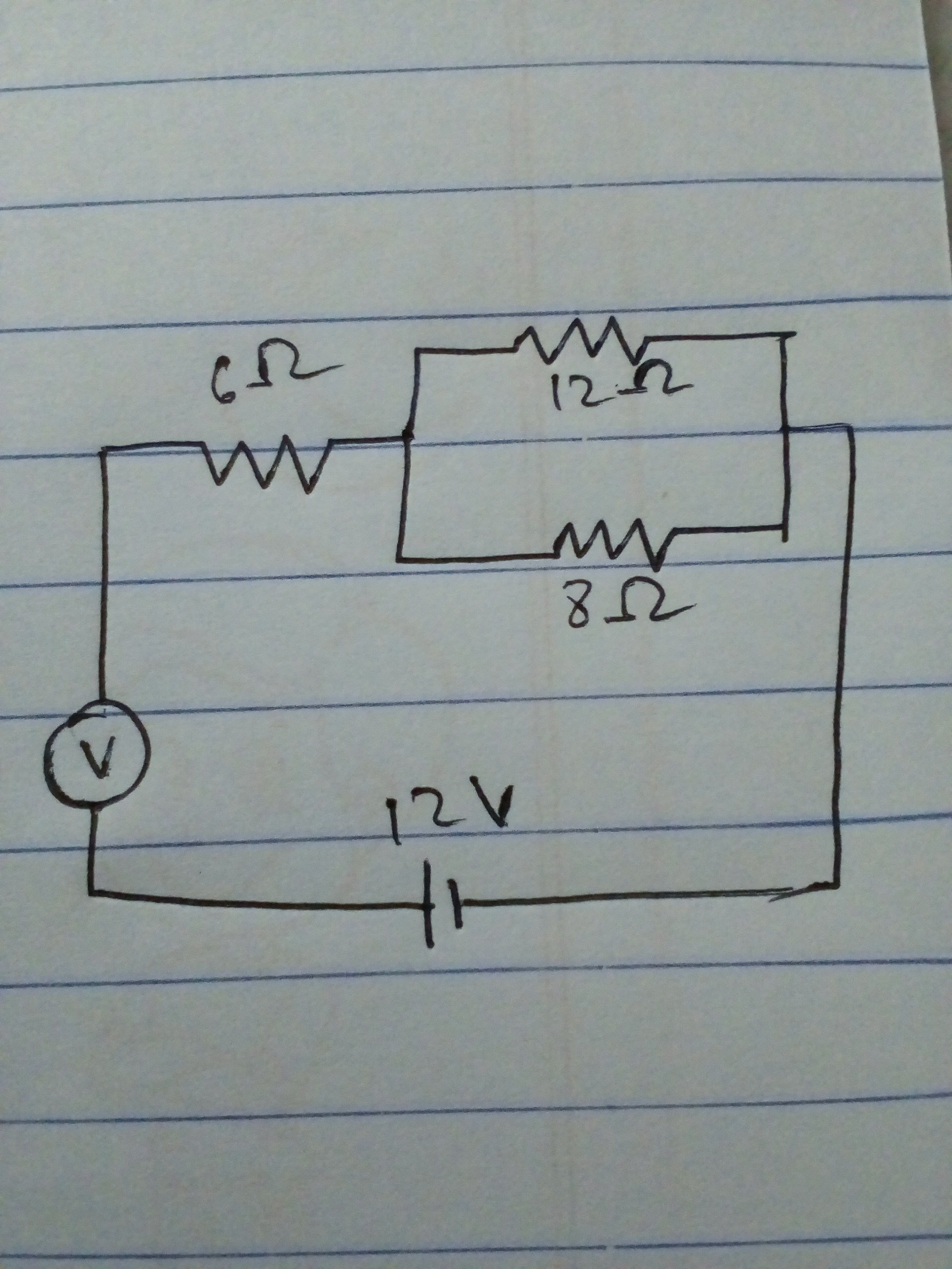 Gh 2108 Electric Circuit Use Of Ammeters And Voltmeters Physics Homework Help Schematic Wiring [ 2560 x 1920 Pixel ]