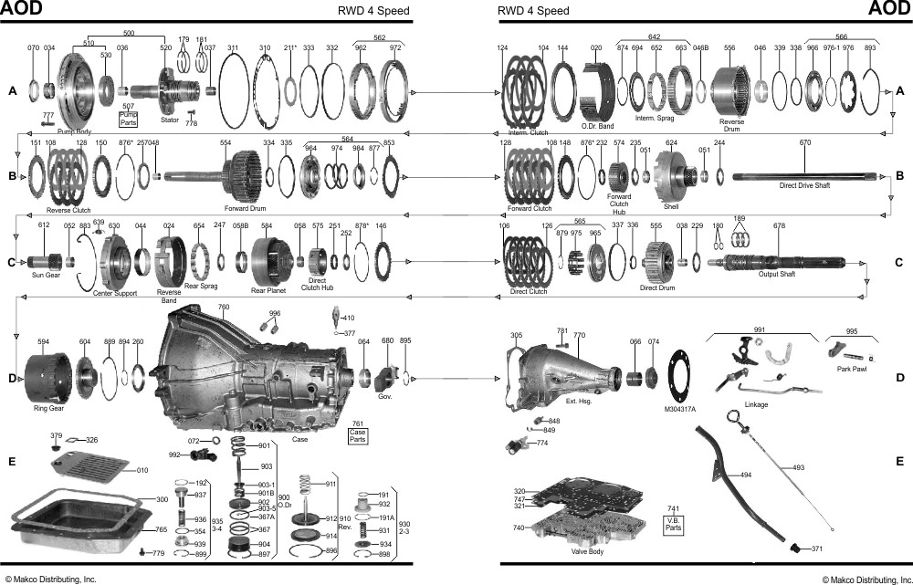 Dk 0259  Ford C6 Transmission Parts Diagram Download Diagram