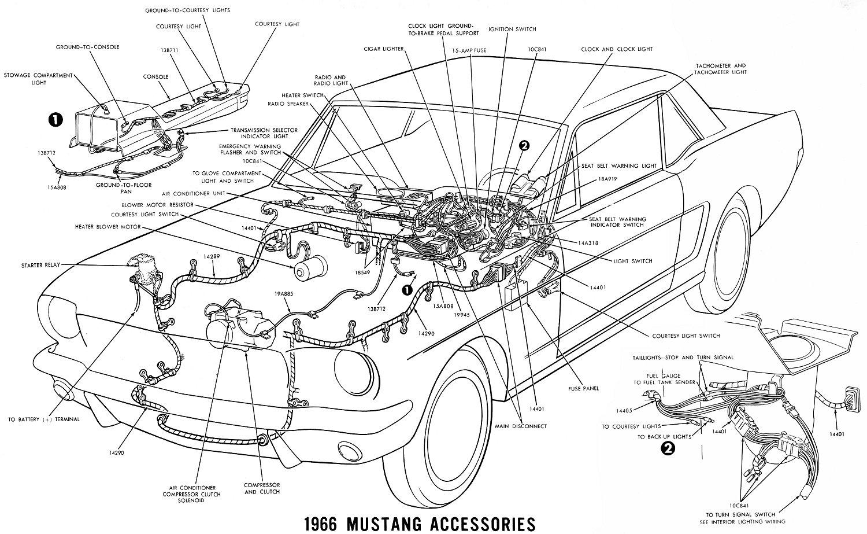 Outstanding 1966 Mustang Wiring Diagrams Average Joe Restoration Wiring Cloud Overrenstrafr09Org
