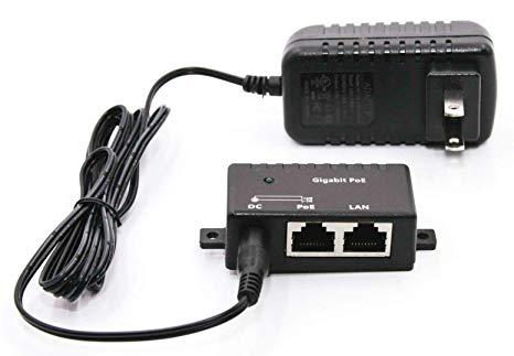 Miraculous Amazon Com Gpoe 1B 48V15W Gigabit Poe Injector For Power Over Wiring Cloud Icalpermsplehendilmohammedshrineorg