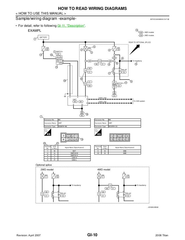 EO_0002] 2004 Nissan Titan Wiring DiagramsKweca Norab Gue45 Mohammedshrine Librar Wiring 101