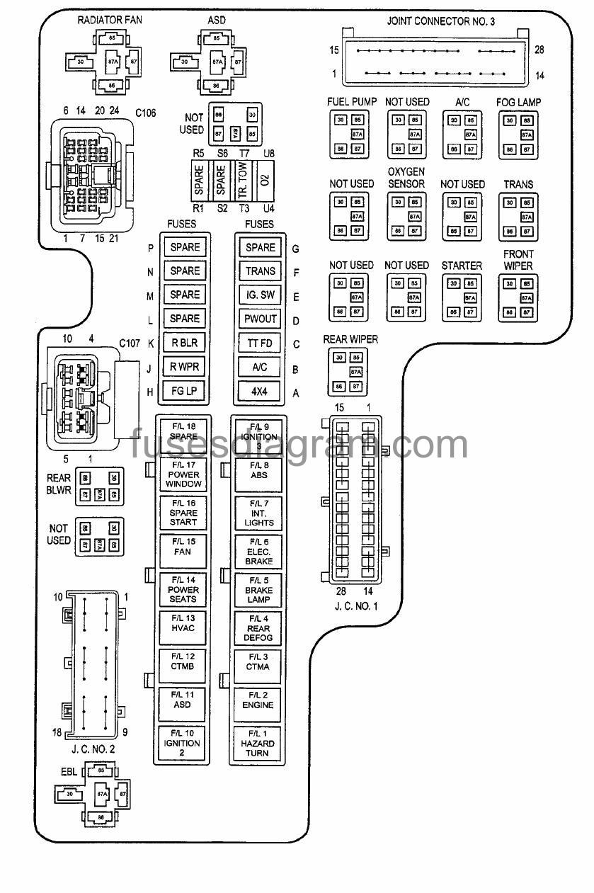 2003 Dodge Stratus Fuse Box Location - Meyers E60 Underhood Wiring Diagram  for Wiring Diagram SchematicsWiring Diagram Schematics