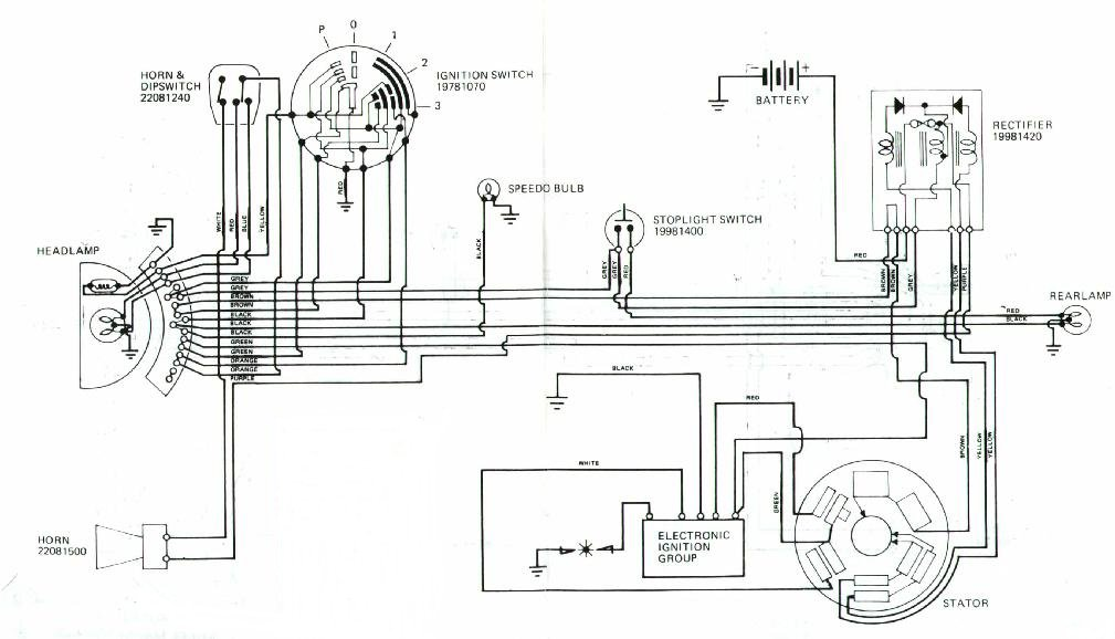 Lambretta Gp 150 Wiring Diagram