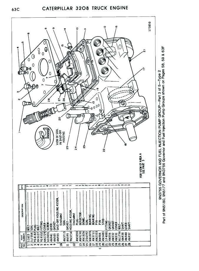 sf 8981  cat engine fuel system besides cat 3406e ecm