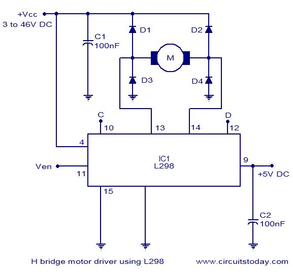 Remarkable H Bridge Controller Wiring Diagram Wiring Diagram Tutorial Wiring Cloud Onicaxeromohammedshrineorg