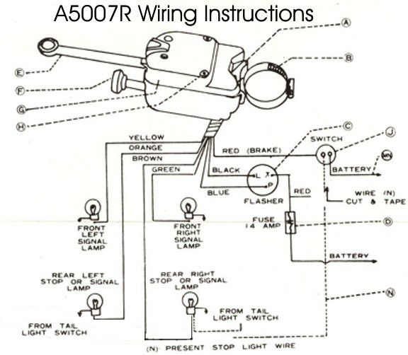 Universal Turn Signal Wiring Schematic For - Nema 6 20r Breaker Wiring  Diagram - on-ai-2000.tukune.jeanjaures37.fr | Turn Signal Wire Diagram 6 |  | Wiring Diagram Resource