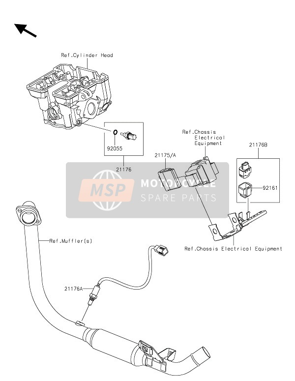 Hg 8827  Kawasaki Z250 Wiring Diagram Schematic Wiring