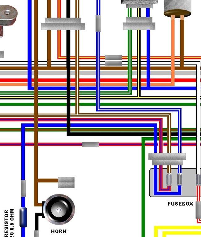 Marvelous Kawasaki Z750 B4 Uk Euro Spec A3 Colour Wiring Circuit Diagram Wiring Cloud Ittabisraaidewilluminateatxorg