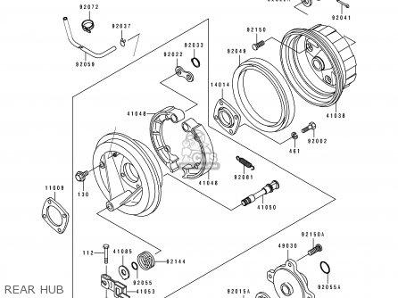 Sx 5937 Kawasaki Klf300b Wiring Diagram Schematic Wiring