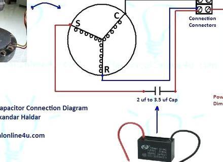 ca7285 hampton bay ceiling fan capacitor wiring diagram