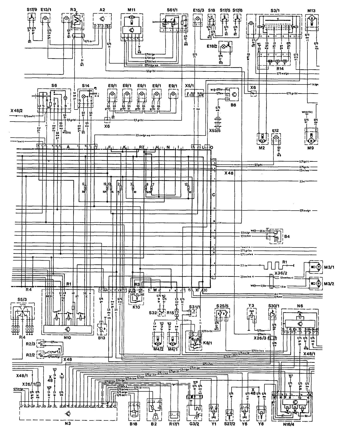 Gz 4113  1993 Mercedes 190e Radio Wiring Diagram Wiring