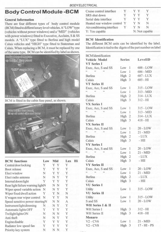 Vr Commodore Stereo Wiring Diagram