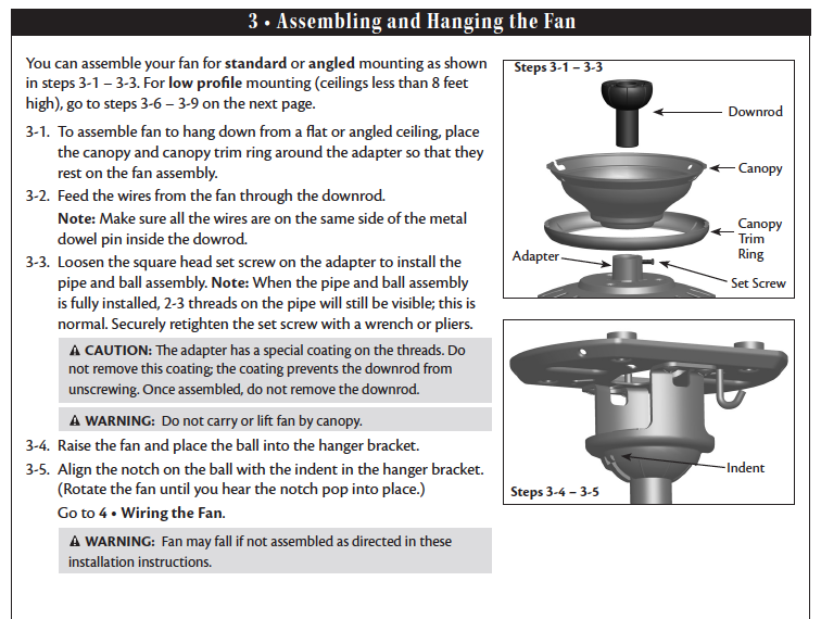 Hampton Bay Ceiling Fan Remote Control Manual