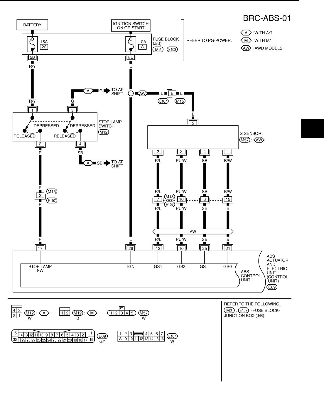 Nissan Abs Wiring Diagram - 1999 Toyota Tacoma Fuse Box Diagram for Wiring  Diagram SchematicsWiring Diagram Schematics