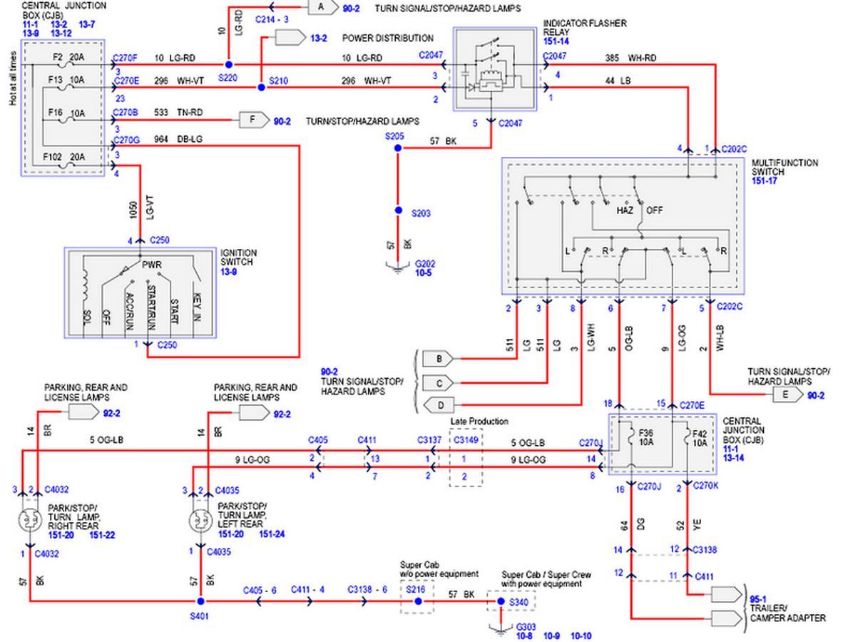 F150 Tail Light Wiring Diagram - Typical Burglar Alarm Wiring Diagram for Wiring  Diagram SchematicsWiring Diagram Schematics
