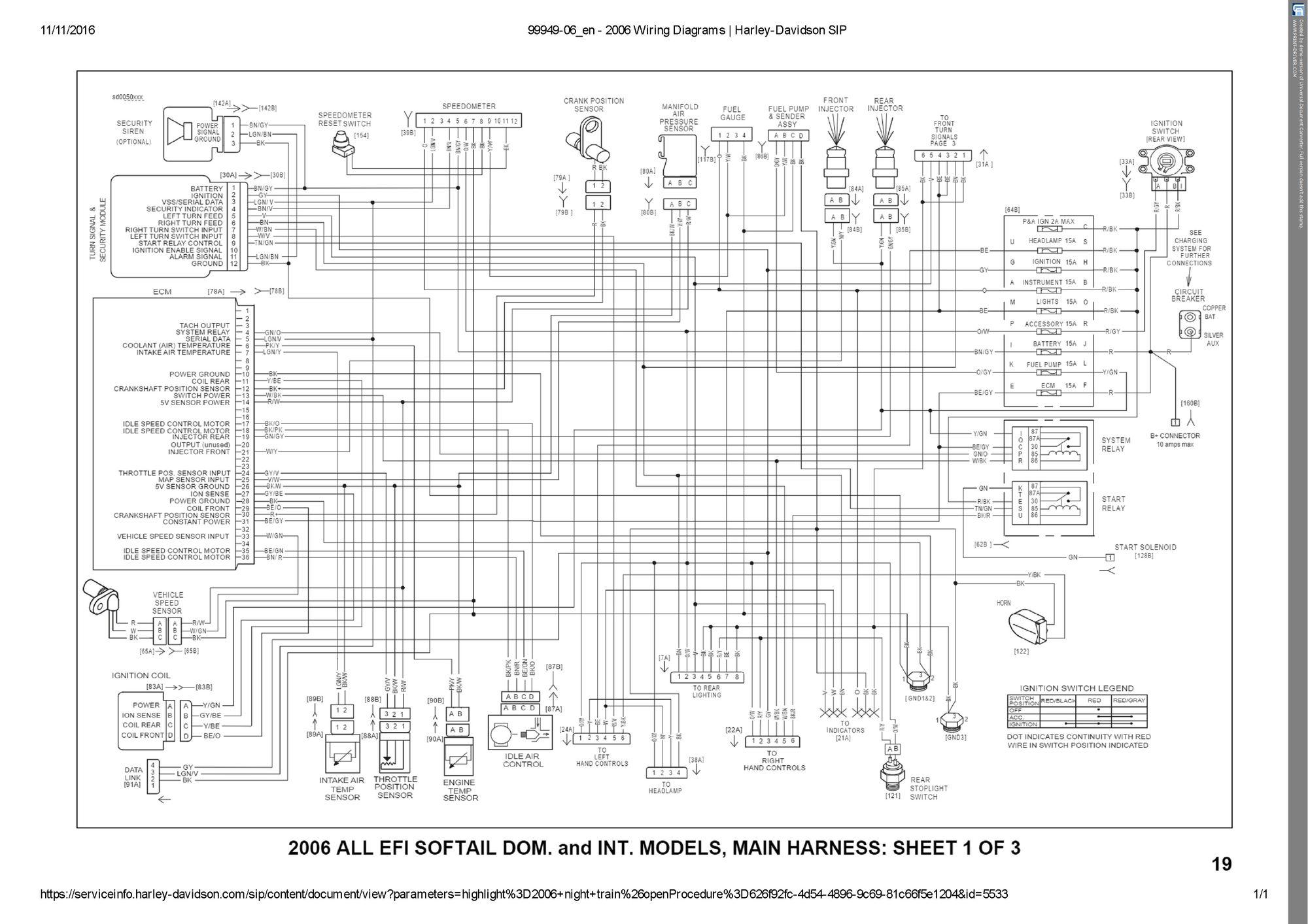 GE_0965] Wiring Diagram For 1997 Softail Wiring Diagram