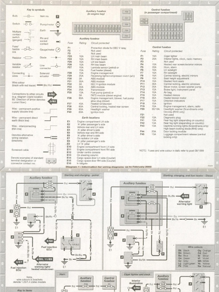 Cr 4841 Ford Fiesta Mk5 Wiring Diagram Wiring Diagram Free