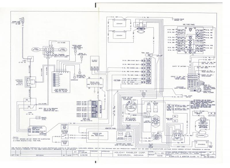 1983 Holiday Rambler Wiring Diagram Bege Wiring Diagram