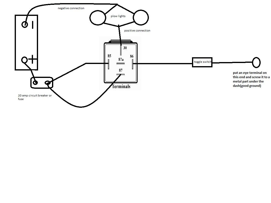 HA 40] Plow Wiring Diagram Together With Meyer Plow Light Wiring ...