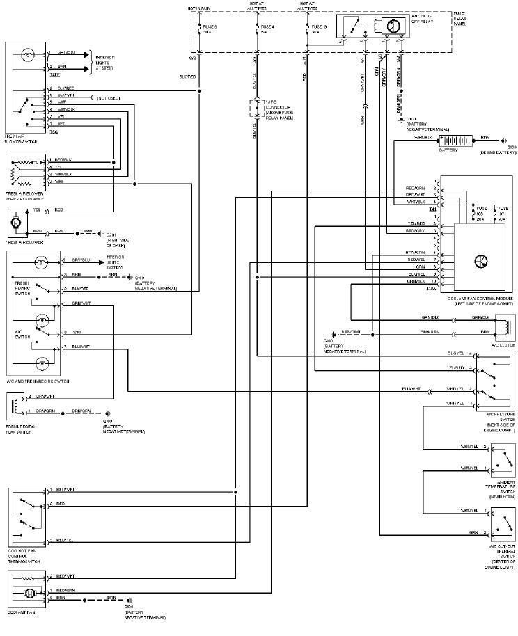 2000 Jetta Door Wiring Diagram - Ram Air Compressor Wiring Diagram for Wiring  Diagram Schematics