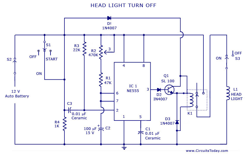 zo_2713] car light circuit automotive circuits nextgr schematic wiring  over tivexi mohammedshrine librar wiring 101
