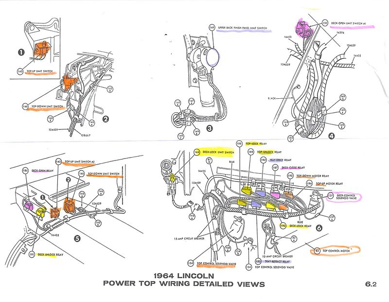 1963 Lincoln Continental Wiring Diagram - Wiring Diagram