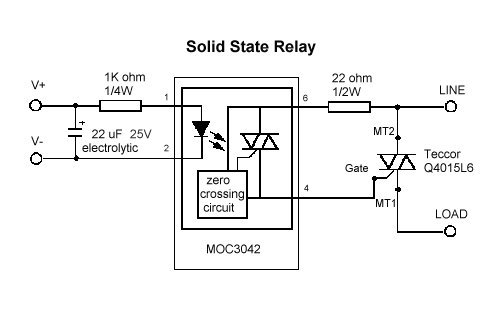 Super Solid State Relay Circuit Hacking Gadget World Wiring Cloud Licukshollocom
