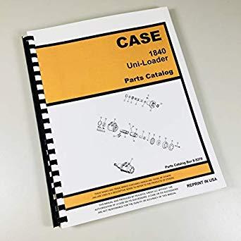 Remarkable Amazon Com Case 1840 Uni Loader Parts Manual Catalog Skid Steer Wiring Cloud Hemtshollocom